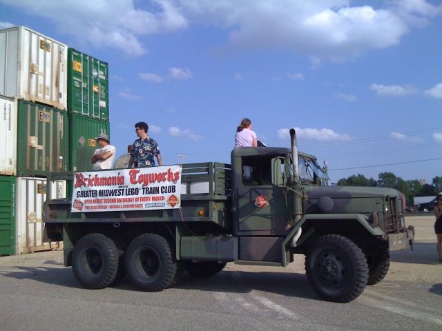 Brickmania truck